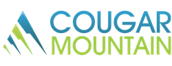 Cougar Mountain, Accounting Software, logo