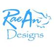 RaeAn Designs Logo with Dove