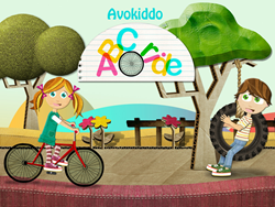 Bike through the alphabet in an original puzzle adventure
