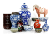 Chinese ceramics and porcelain