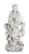 Chinese Figure of Guanyin with Child, Blanc de Chine
