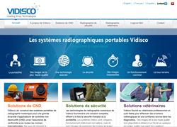 Vidisco Ltd website avialable in French