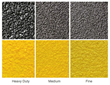 The mineral abrasive epoxy grit is available in three anti-slip options