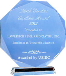 LAWRENCE BEHR ASSOCIATES, INC 2013 Award