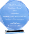 Lawrence Behr Associates Receives The 2013 North Carolina Excellence...