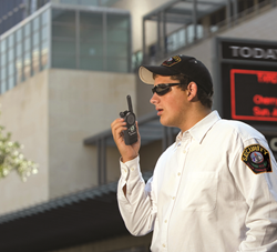 BearCom detailed the key role played by the instant, one-to-many communications of two-way radios in the success of security operations.