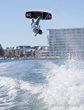 Raimi Merritt competing at the IWWF Wakeboard World Cup in Australia