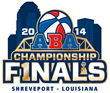 The official logo of the 2014 ABA Finals.