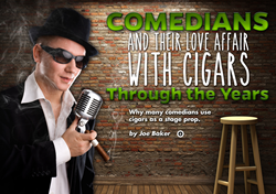 cigars, cigar smoking comedians, bill cosby, groucho marx, george burns, cigar magazine