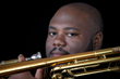 Trombonist/composer David White, leader of the David White Jazz Orchestra.