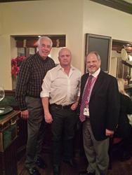 Congressman Marty Russo, David Gergen and Dr. Elliott Alpher sleep apnea american sleep and breathing academy pro player health alliance gergen's orthodontic lab