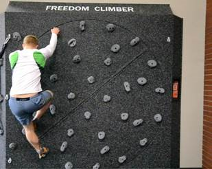 Freedom Climber Announces Their Rotating Climbing Wall Now