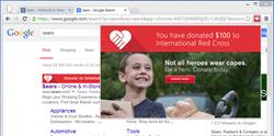 Plugin Menu with User's Charity Balance