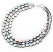 Three Strand Pearl Necklace Now On Sale on Aypearl.com