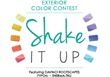 "DaVinci Roofscapes Launches 2014 ""Shake it Up"" Exterior Color Contest"