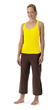Modal Racerback Tank in Yellow