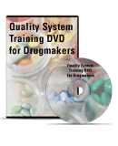 Quality Systems Training DVD for Drugmakers