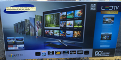 "60"" Samsung 3D LED HD TV"