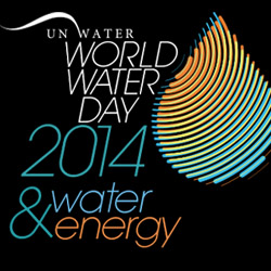 UN World Water Day 2014 logo