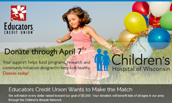 Educators Credit Union uses social media app to launch dollar-for-dollar fundraising campaign