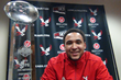 Vernon Adams with the CFPA Trophy