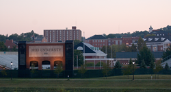 Ohio University Campus Peden Stadium