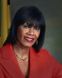 Portia Simpson Miller, Prime Minister of Jamaica, will be the principal speaker at Lafayette College's 179th Commencement May 24, 2014.