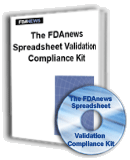 FDAnews Spreadsheet Validation Kit
