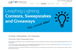 Leapfrog Lighting Sponsors $1000 Bulb Giveaway to Demonstrate How LED...