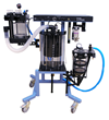 The DRE Titan XL is optimized for large animal anesthesia.