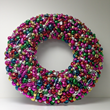 Craig Bachman Imports Christmas Ornament Wreath