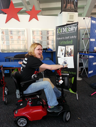 101 Mobility donates a scooter to MDA Rochester and Buffalo's Muscle Walk