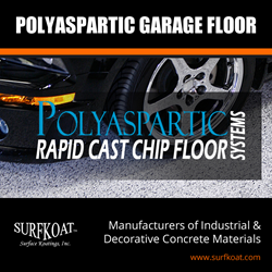 Polyaspartic Garage Floor