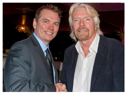 mike warren and Richard Branson