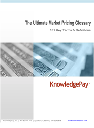 Market Pricing Glossary of Terms
