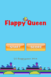 Flappy Queen IPhone App