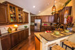 Spacious kitchens with plenty of cabinets and countertop space.