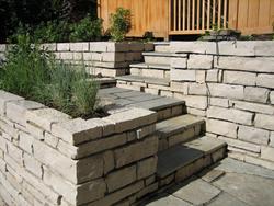 Stone Staircase - Stoneman Masonry, Inc