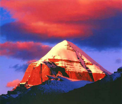 Mount Kailash is the most sacred mountain in Asia.