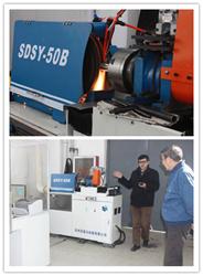 SDSY-50B CNC Sanding Belt Grinding Machine www.iabrasive.com