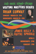 The Irish Music School of Chicago welcomes Brian Conway, James Kelly...