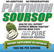 Platinum Soursop Brazilian Graviola Dietary Supplement Now Even Better...