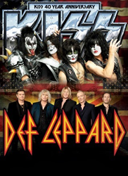 Kiss & Def Leppard North American Summer Tour Tickets & Dates