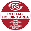 Stop-Painting.com Introduces 5S/Lean Red Tag Holding Area Tape and...