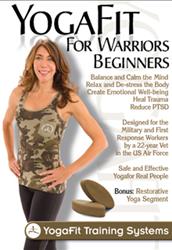 YogaFit for Warriors DVD