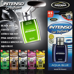 The Power Of Fragrance Aroma Intenso Car Perfumes
