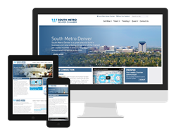 Denver Marketing Company - Web Design - S Metro Denver Chamber