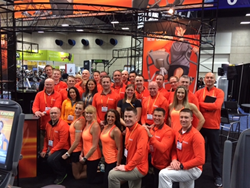 Octane team at IHRSA