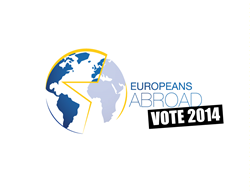 Logo Europeans Abroad Vote 2014