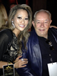 Robin Leach with fellow judge Mrs. USA 2005 Dr. Chiann Gibson